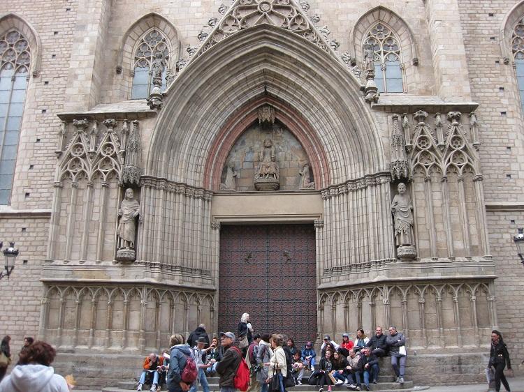 Mégara en la Basílica de Santa María de la Mar